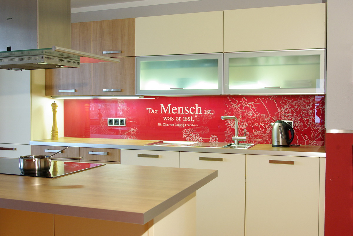 Full Size of Kuechenrueckwand Aus Glas Bedruckt Küche Küche Wandpaneel Glas