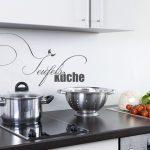 Wandtattoos Küche Küche Weiße Küchenzeile