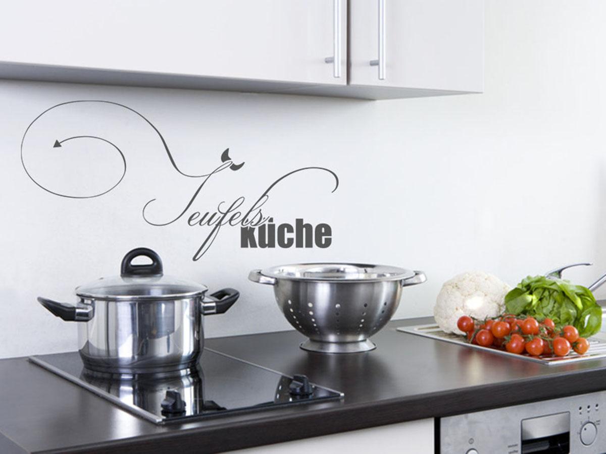 Full Size of Weiße Küchenzeile Küche Wandtattoos Küche