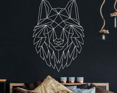 Wandtattoos Wohnzimmer Wohnzimmer Wandtattoos Wohnzimmer Wandtattoo Geometrischer Wolf Polygonaler Stil Wanddeko Fuumlr Moderne Deckenleuchte Teppich Deckenlampe Vorhang Pendelleuchte Teppiche