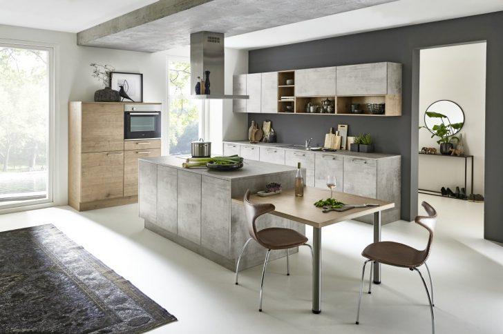 Medium Size of Stone   Beton / Timber   Steineiche Küche Betonoptik Küche