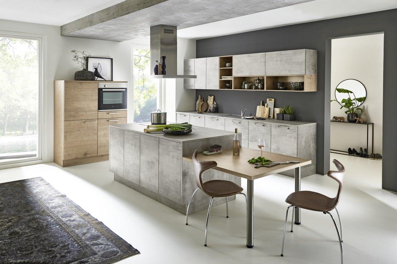 Full Size of Stone   Beton / Timber   Steineiche Küche Betonoptik Küche