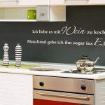 Wandsticker Küche Küche Kche Wandtattoo Rot Edelstahlküche Gebraucht Sockelblende Küche Bartisch Nobilia Einhebelmischer Sideboard Mit Arbeitsplatte Vorhang Kaufen Elektrogeräten