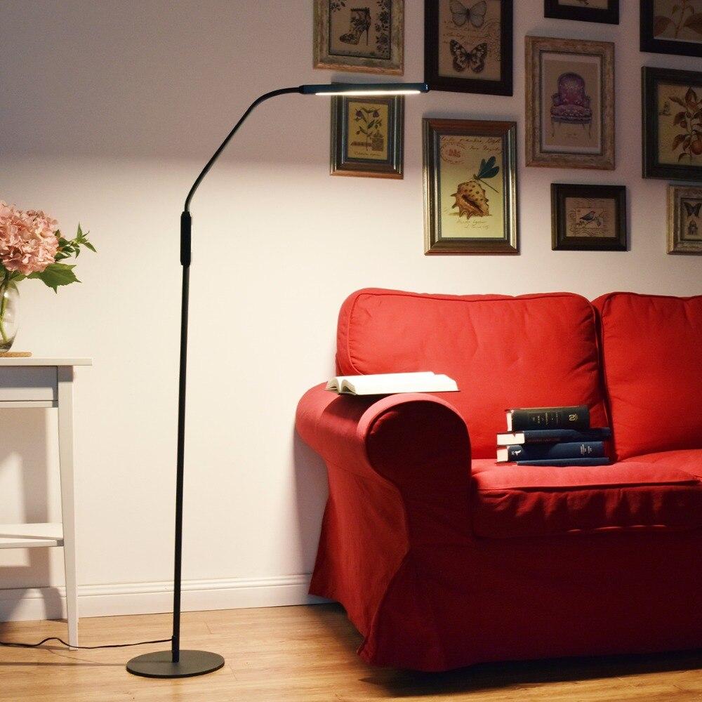 Full Size of Minimalistische Led Stehleuchte 5 Farbmodi Touch Control Flexible Regal Schlafzimmer Lampe Kronleuchter Tapeten Komplett Weiß Vorhänge Set Mit Boxspringbett Schlafzimmer Stehlampe Schlafzimmer