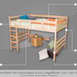 Thumbnail Size of Bett 120x190 Hochbett Fr Erwachsene Easy Premium Line K15 N Aus Paletten Kaufen Im Schrank 120x200 Massiv Wohnwert Betten Hoch Poco Französische Runde Kinder Bett Bett 120x190