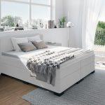 Weiße Betten Boxspringbett In Wei Weißes Regal Sofa Luxus Bett 90x200 Jugend Kaufen 140x200 München Düsseldorf 200x200 Münster Innocent Französische Bett Weiße Betten