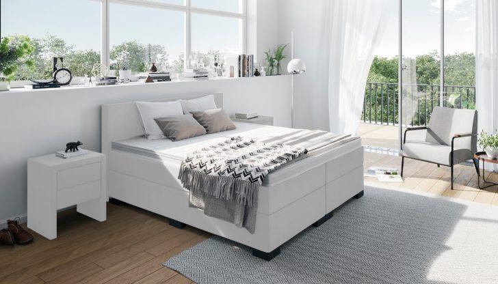 Medium Size of Weiße Betten Boxspringbett In Wei Weißes Regal Sofa Luxus Bett 90x200 Jugend Kaufen 140x200 München Düsseldorf 200x200 Münster Innocent Französische Bett Weiße Betten