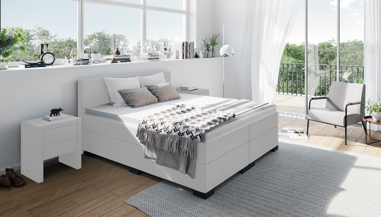 Full Size of Weiße Betten Boxspringbett In Wei Weißes Regal Sofa Luxus Bett 90x200 Jugend Kaufen 140x200 München Düsseldorf 200x200 Münster Innocent Französische Bett Weiße Betten