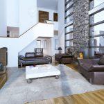 Wohnzimmer Decken Wohnzimmer Design Of Cozy Modern Living Room
