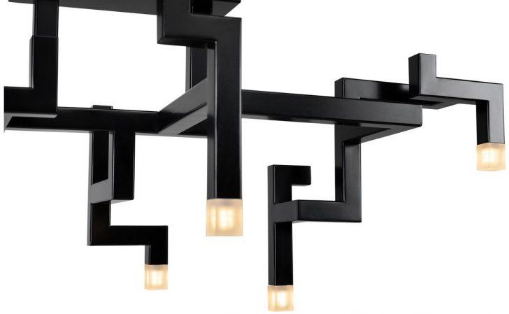 Medium Size of Wohnzimmer Deckenlampen Casa Padrino Luxus Edelstahl Led Deckenleuchte Schwarz 735 305 H 315 Cm Pulverbeschichtete Designer Deckenlampe Pendelleuchte Lampen Wohnzimmer Wohnzimmer Deckenlampen