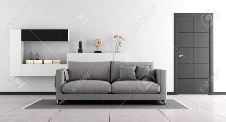 Black And White Living Room Wohnzimmer Wohnzimmer Schrankwand