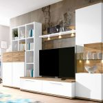 Wohnwand Dunkles Holz Wohnzimmer Schrankwand Modern Excellent Wohnzimmer Schön Wohnzimmer Wohnzimmer Schrankwand