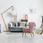 Grey Sofa With Decorative Pillows Wohnzimmer Wohnzimmer Sessel