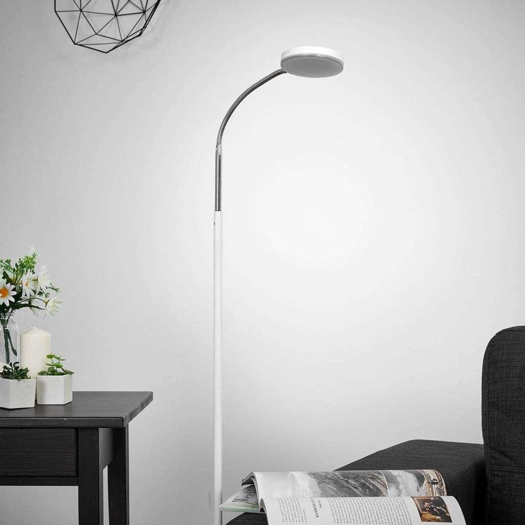 Full Size of Wohnzimmer Stehlampe Led Dimmbar Holz Stehleuchte Stehlampen Ikea Poco Modern Milow Lampenwelt Leseleuchte Weiszlig Lampen Deckenlampen Tisch Anbauwand Wohnzimmer Wohnzimmer Stehlampe