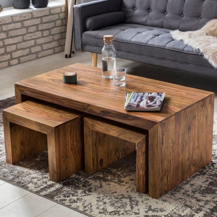Medium Size of Wohnzimmer Tisch Finebuy Couchtisch Stick Sheesham Holz 110 60 Cm Mit 2 Hockern Wohnzimmertisch Palisander Massiv Modern Holztisch Esstisch 120x80 Badezimmer Wohnzimmer Wohnzimmer Tisch