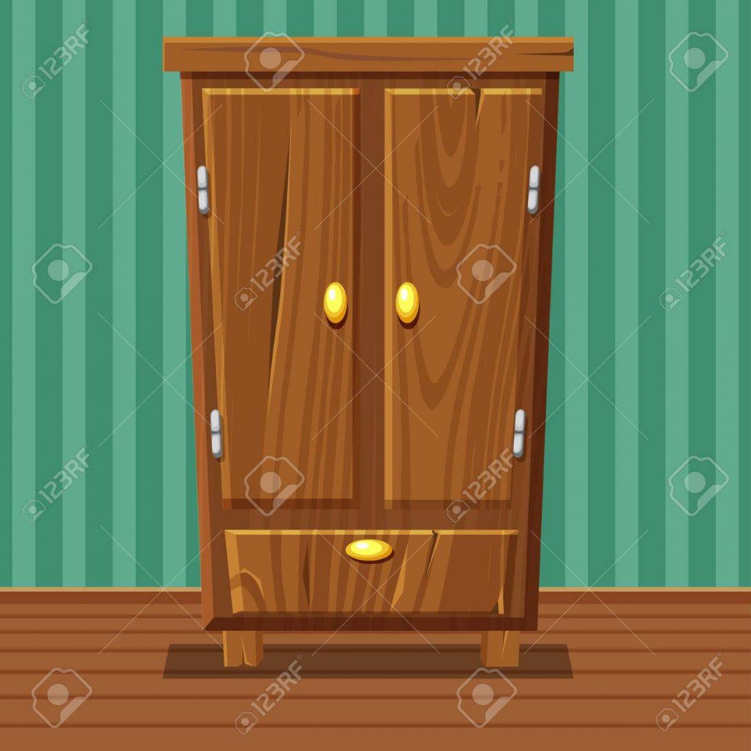 Large Size of Cartoon Funny Closed Wardrobe, Living Room Wooden Furniture Wohnzimmer Schrank Wohnzimmer