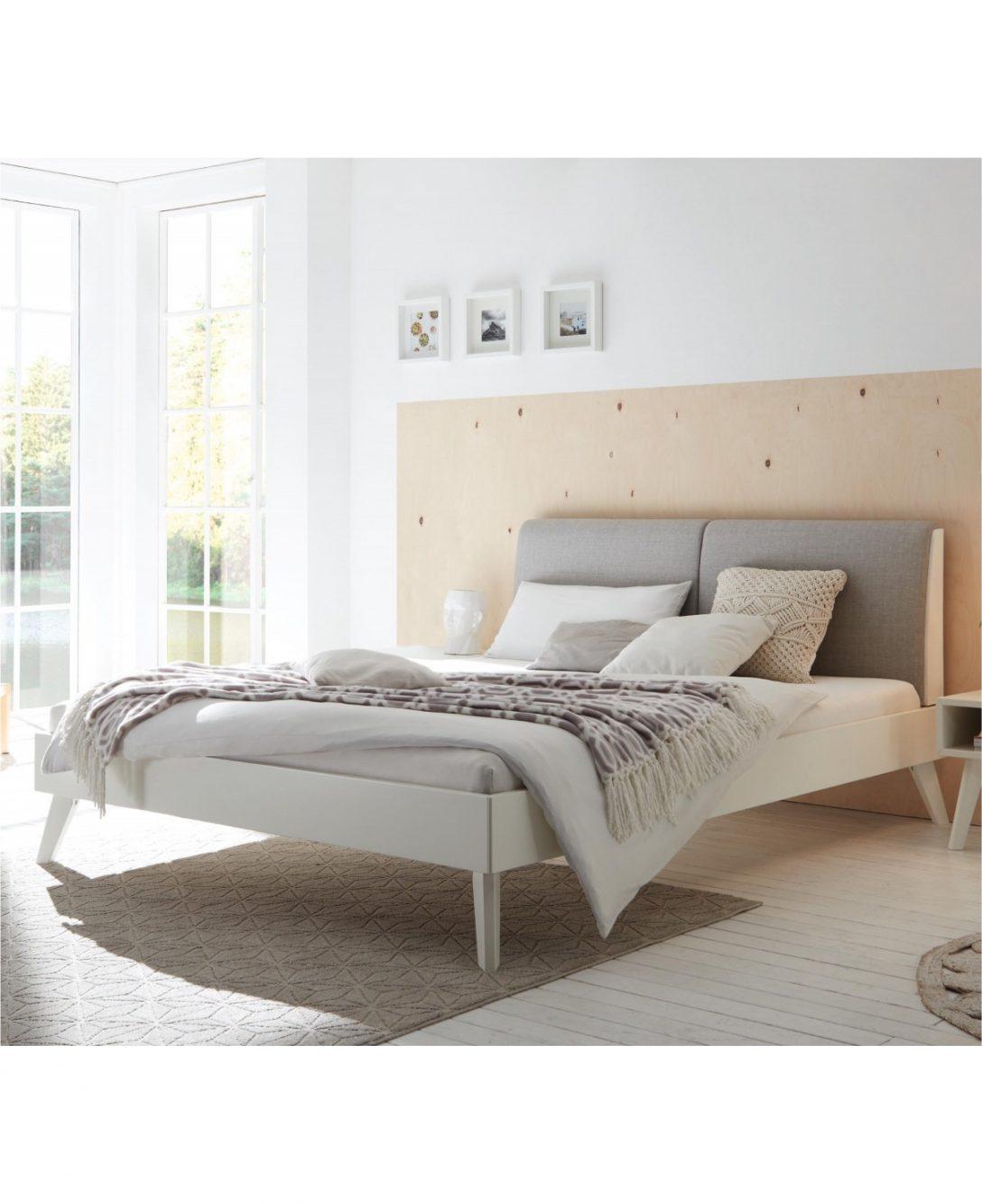 Large Size of Hasena Bett Simone 20 Buche Wei Deckend Polsterkopfteil Grau 180x200 Betten Coole Weiße Weißes 90x200 Schweißausbrüche Wechseljahre Günstige Regal Sofa Bett Betten Weiß