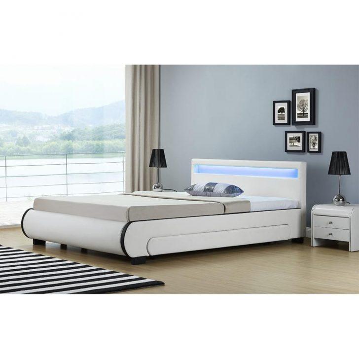 Medium Size of Bett Weiß 140x200 Artlife Polsterbett Bilbao 140 200 Cm Wei Mit K Real Betten Günstig Kaufen Ebay Hohe Kingsize Ausklappbares Schutzgitter 160x220 Bett Bett Weiß 140x200