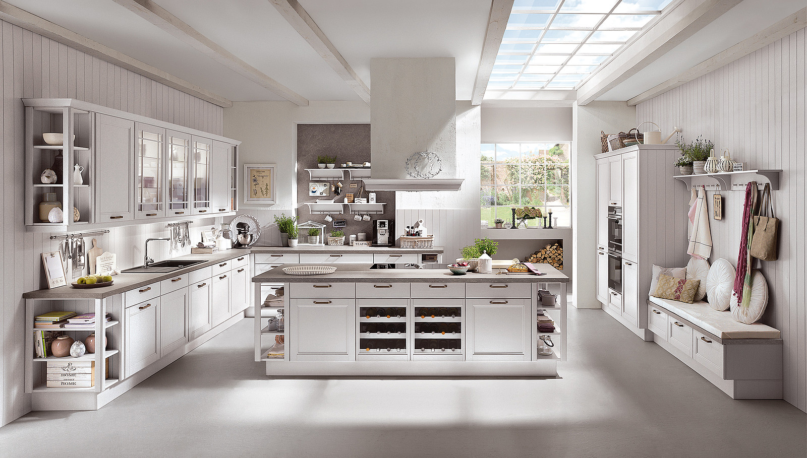 Full Size of Landhausküche Landhauskche Von Klassisch Rustikal Bis Modern Moderne Grau Weiß Gebraucht Weisse Küche Landhausküche