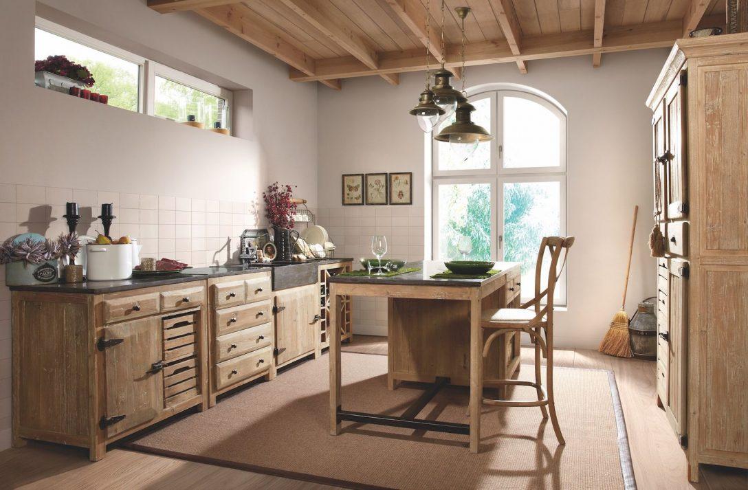 Large Size of Paket Rustikale Landhauskche Pinie Massiv Dewall Design Landhausküche Gebraucht Weisse Weiß Moderne Grau Küche Landhausküche