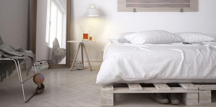 Medium Size of Paletten Bett 140x200 Palettenbett Bauen Diy Zum Gnstigen Single Oder Doppelbett Matratze Clinique Even Better Modernes Betten überlänge Leander Holz Bett Paletten Bett 140x200