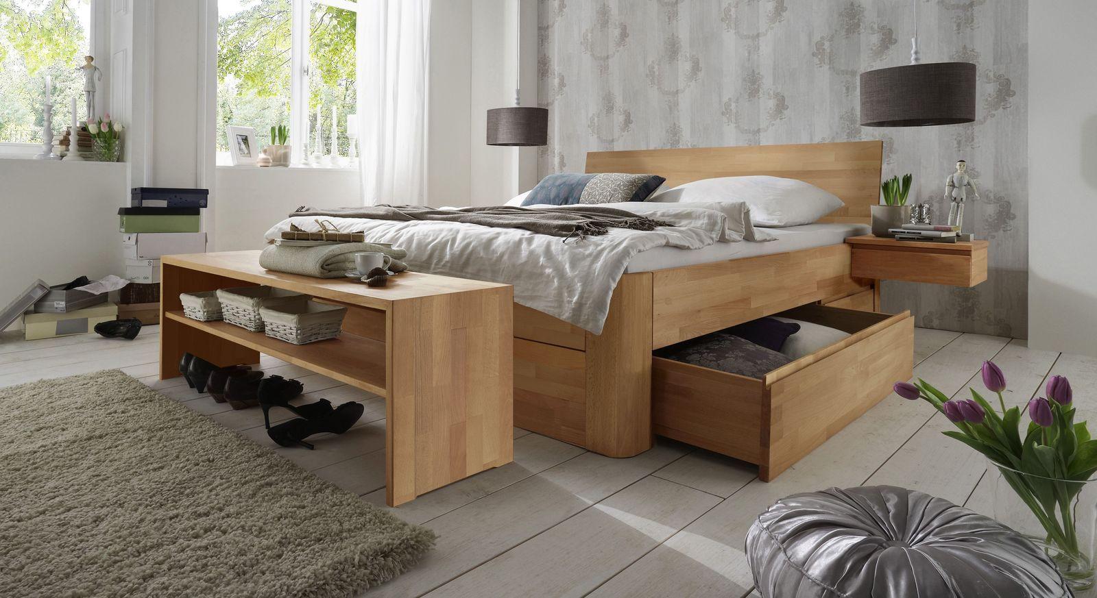 Full Size of Schubkasten Doppelbett Zarbo Schlafzimmer Massivholz Bett Betten.de