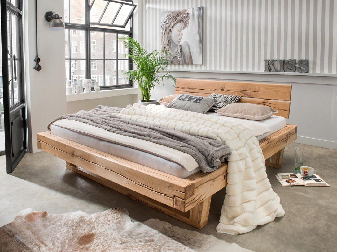Large Size of Bett Balken Vannkilde Wildeiche Massivholz Balkenbett Thor Bette Floor Wasser Günstig Kaufen Mit Aufbewahrung 160x220 Hülsta Betten Ikea 160x200 Stauraum Bett Bett Balken