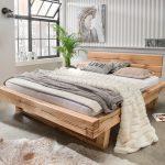 Bett Balken Vannkilde Wildeiche Massivholz Balkenbett Thor Bette Floor Wasser Günstig Kaufen Mit Aufbewahrung 160x220 Hülsta Betten Ikea 160x200 Stauraum Bett Bett Balken