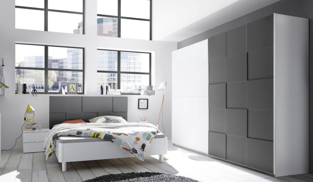 Large Size of Schlafzimmer Komplett Weiß Schlafzimmerset Weiss Grau Matt 3d Optik Nicato5 Designermbel Günstig Vorhänge Luxus Bett 200x200 160x200 Schränke Hängeschrank Schlafzimmer Schlafzimmer Komplett Weiß