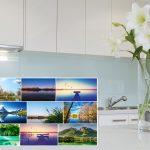 Fliesenspiegel Küche Glas Kchenrckwand Online Bestellen Glaspostercom Bauen Obi Einbauküche Hängeschrank Glastüren Sideboard Wanduhr Nolte Eckunterschrank Küche Fliesenspiegel Küche Glas