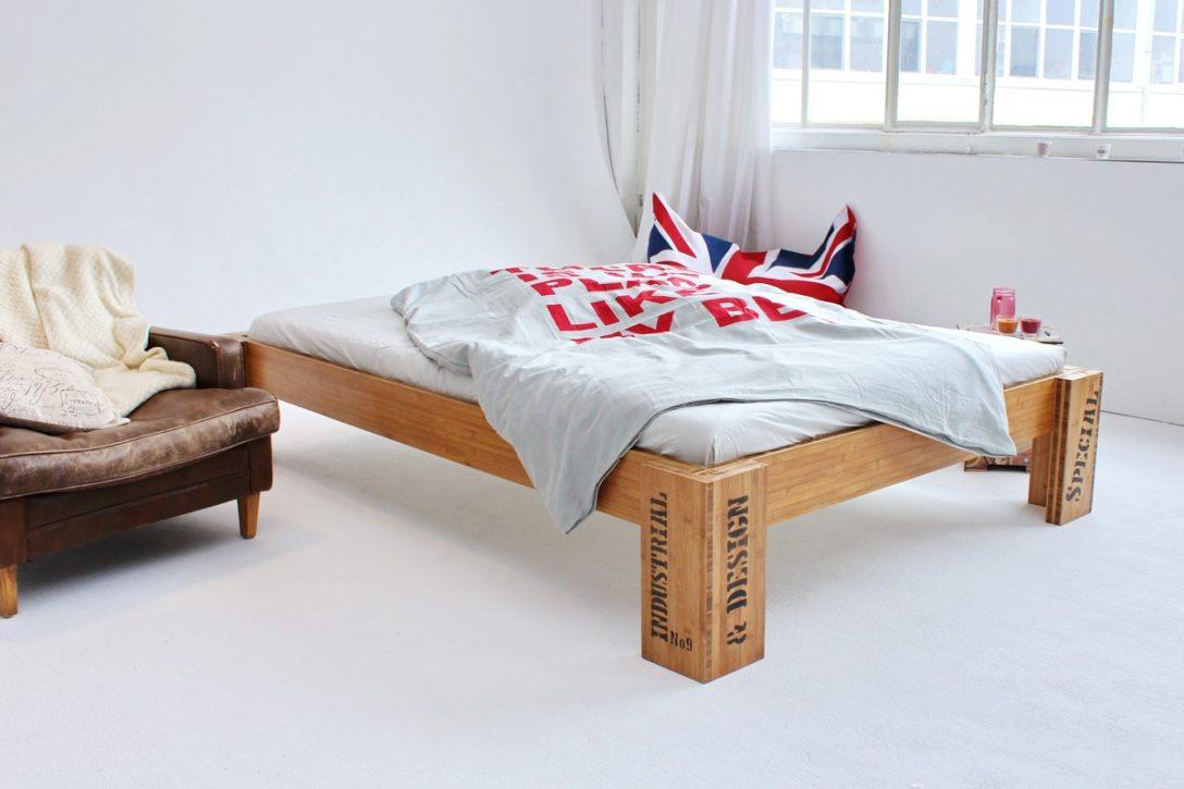 Large Size of Bett 140x220 Bambusbett Opus Aus Bambus 90x200cm Schöne Betten Selber Bauen 140x200 Ottoversand 190x90 Für übergewichtige Mit Matratze Und Lattenrost Hoch Bett Bett 140x220