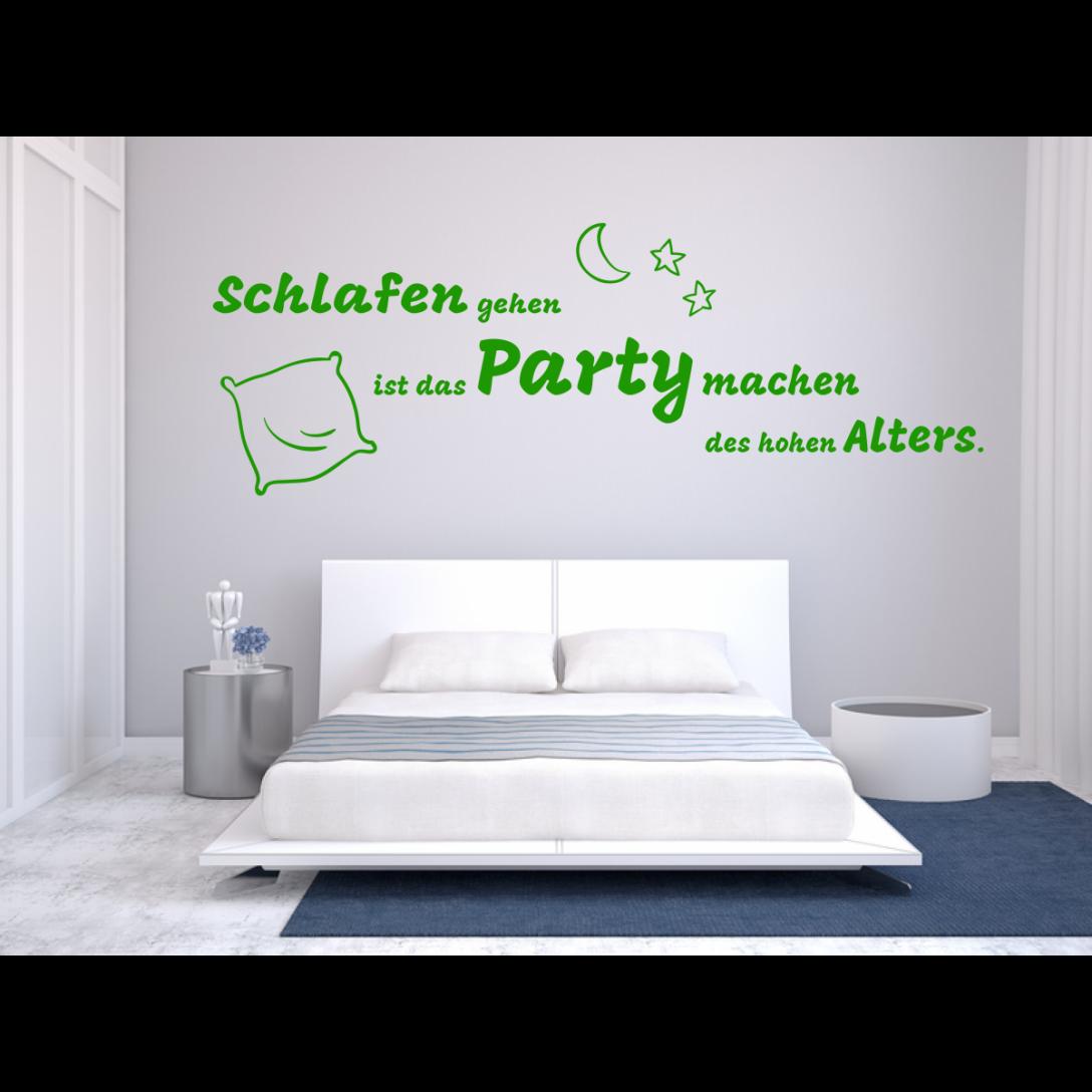 Large Size of Schlafen Party Wandtattoo Schlafzimmer Nach Rumen Landhaus Sessel Schimmel Im Schranksysteme Kronleuchter Regal Romantische Set Weiß Komplett Günstig Schlafzimmer Wandtattoos Schlafzimmer