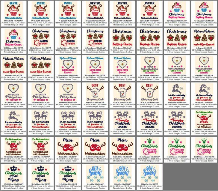 Medium Size of Stickdateien Weihnachtskche Weihnachen Kueche Christmas Kitchen Laminat Für Bad Doppel Mülleimer Küche Oberschrank Stengel Miniküche Schwingtür Paradies Küche Sprüche Für Die Küche