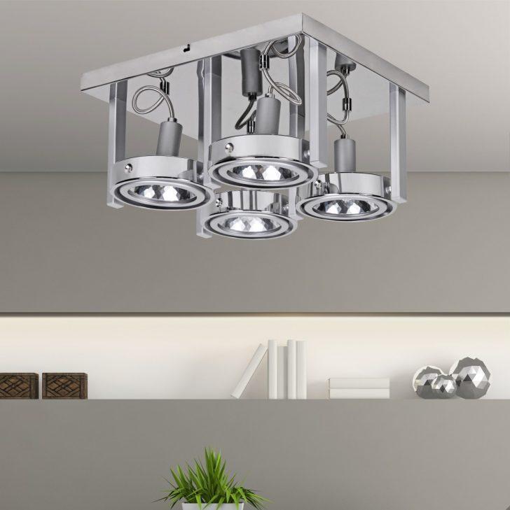 Medium Size of Deckenlampe Schlafzimmer Skandinavisch Led Lampe Holz Deckenlampen Design Wohnling 4 Flammige Deckenleuchte Aus Chrom Inkl Halogen Teppich Stehlampe Bad Schlafzimmer Deckenlampe Schlafzimmer