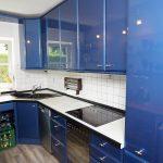 Küche Erweitern Kche In Blau Wei Umbauprojekt Kchenstudio Elha Service Deko Für Waschbecken Kaufen Tipps Glaswand Zusammenstellen Tapete Modern Lieferzeit Küche Küche Erweitern