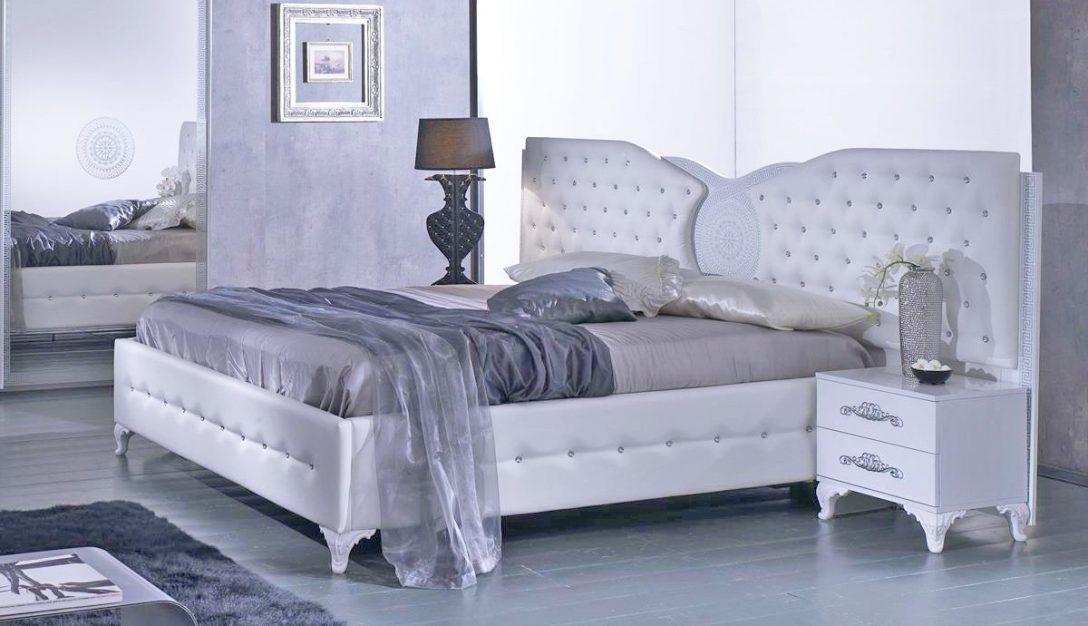 Large Size of Bett Modern Design Italienisches Puristisch Anatalia In Wei 180x200 Cm Mit Lattenrost 26 Ausziehbett Schwebendes Kopfteil Für Betten Landhausstil Weißes Bett Bett Modern Design