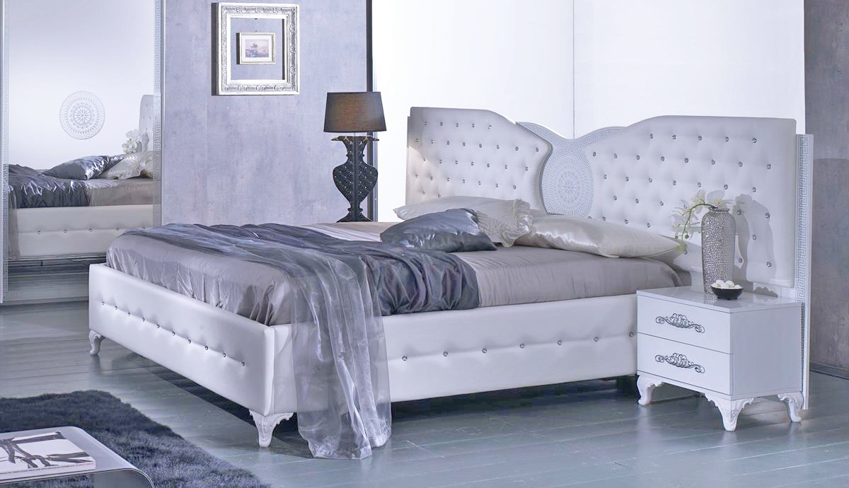 Full Size of Bett Modern Design Italienisches Puristisch Anatalia In Wei 180x200 Cm Mit Lattenrost 26 Ausziehbett Schwebendes Kopfteil Für Betten Landhausstil Weißes Bett Bett Modern Design