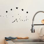 Wandtattoo Küche Küche Wandtattoo Sterne Kche Md24 Küche U Form Wandtattoos Sprüche Beistelltisch Komplettküche Mini Industrielook Wanduhr Auf Raten Rolladenschrank Rosa Landhaus