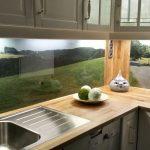 Fliesenspiegel Küche Glas Kchenrckwand Aus Esg Mit Eigenem Motiv In 2020 Wasserhahn Wandanschluss Doppel Mülleimer Weiße Glaswand Dusche Kaufen Küche Fliesenspiegel Küche Glas