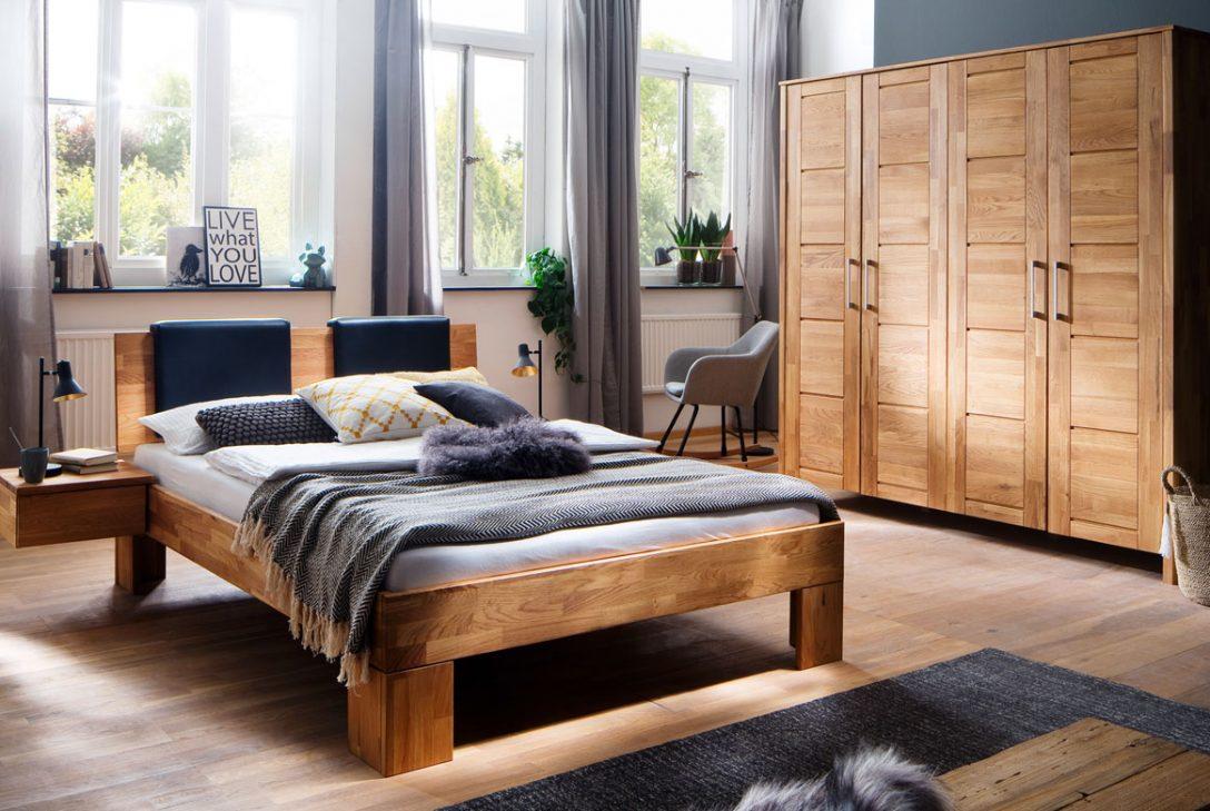Large Size of Schlafzimmer Massivholz Zent Wildeiche Gelt S12 Wandtattoos Led Deckenleuchte Mit überbau Gardinen Für Betten Stuhl Deckenlampe Bett Komplette Esstisch Schlafzimmer Massivholz Schlafzimmer