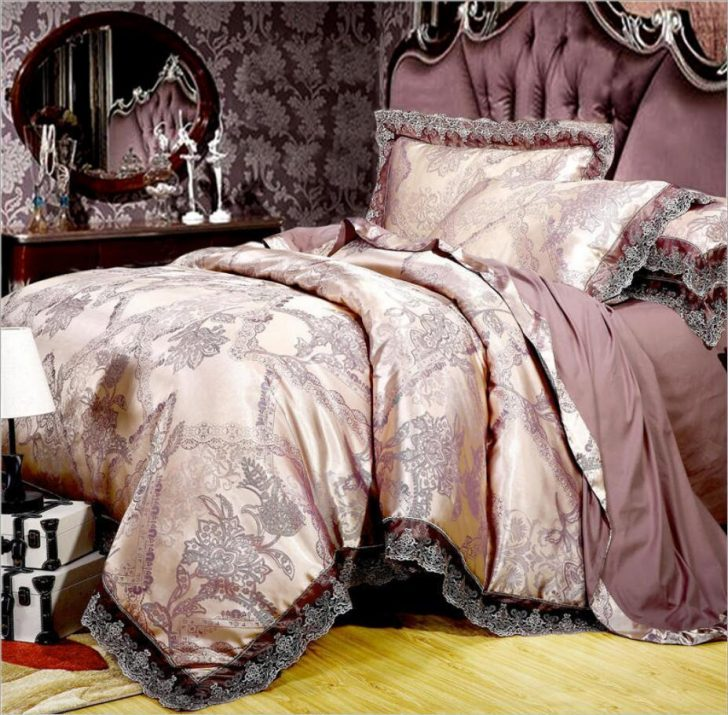 Medium Size of King Size Bett Gold Silber Kaffee Jacquard Luxus Bettwsche Set Queen Kleinkind Betten Köln Billerbeck Konfigurieren Ottoversand Kopfteil Selber Bauen Mit Bett King Size Bett