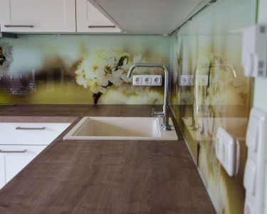 Rückwand Küche Glas Küche Rückwand Küche Glas Endlich Unsere Kchenrckwand Hausbau Garten Baby Treteimer Ikea Miniküche Salamander Sockelblende Modulküche Holz Mit Kühlschrank U