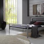 Bett 140x220 Bett Metallbett Doppelbett Bett Steel Nr01 Silber Lackiert 140x220 Cm Musterring Betten Im Schrank Weißes Mit Aufbewahrung Tatami Eiche Hohes Günstig Kaufen Baza