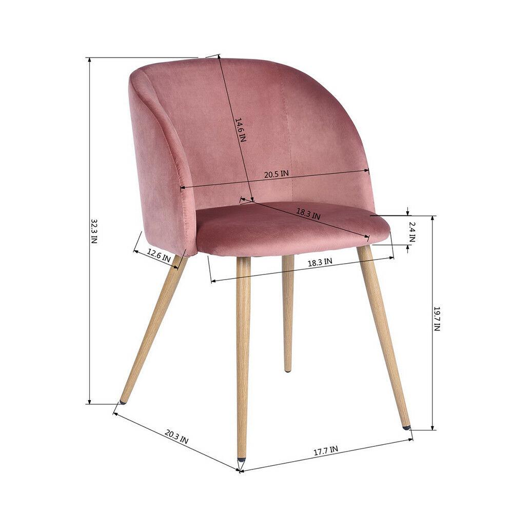 Full Size of Stuhl Für Schlafzimmer 2 Stcke Samt Retro Skandinavischen Wohnzimmer Akzent Komplett Massivholz Deckenleuchten Landhaus Schranksysteme Rauch Weiß Schlafzimmer Stuhl Für Schlafzimmer