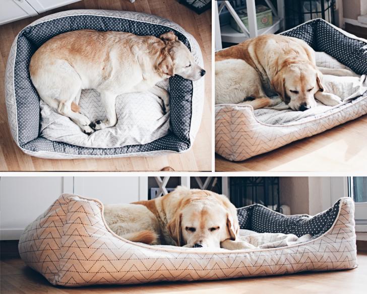 Medium Size of Hunde Bett Hundebett Nhen Schnittmuster Nhanleitung Diylabor Ausklappbar Mit Bettkasten 90x200 Zum Ausziehen 200x200 Weiß 90x190 Betten Jensen Bette Bett Hunde Bett