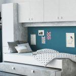 Schlafzimmer Mit überbau Bett Berbau Set Concrete Wei Betonoptik 90x200 Cm Regal 2 Sitzer Sofa Relaxfunktion Rückenlehne L Schlaffunktion Fenster Eingebauten Schlafzimmer Schlafzimmer Mit überbau