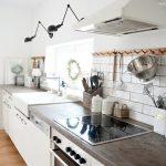 Landhausküche Meine Landhauskche La Fixer Upper Weiß Gebraucht Weisse Grau Moderne Küche Landhausküche