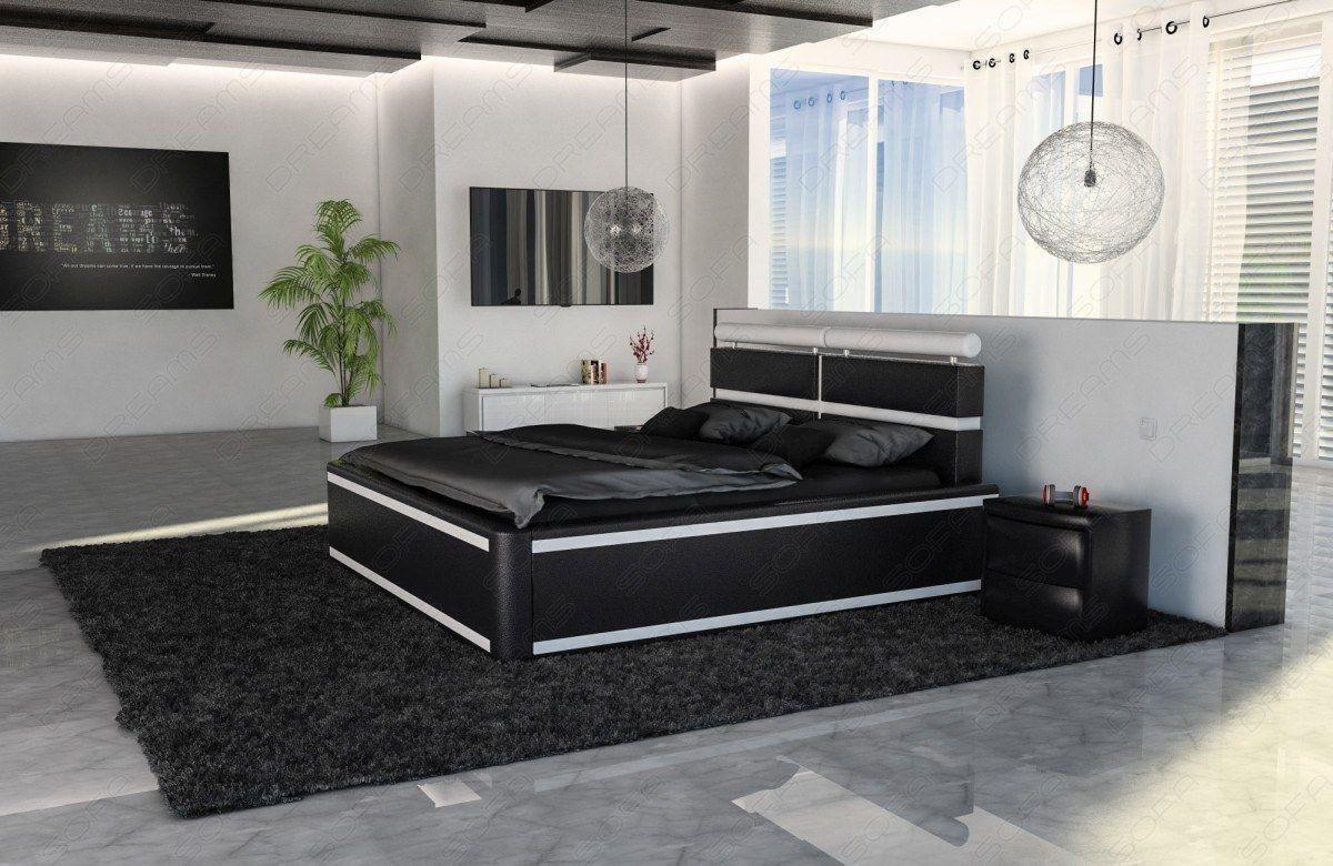 Full Size of Bett Schwarz Weiß Venedig Mit Matratze Und Lattenrost Weiss Betten Rausfallschutz 220 X Kleiner Esstisch Weißes Sofa 200x220 Kleines Regal Für Bett Bett Schwarz Weiß