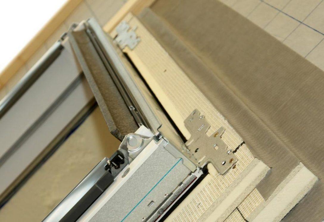 Large Size of Neue Puren Dmmzarge Optimiert Wrmeschutz Rund Um Dachfenster Klebefolie Für Fenster 120x120 Maße Jalousien Felux Rahmenlose Gebrauchte Kaufen Einbauen Fenster Velux Fenster