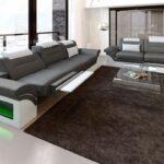 Sofa Relaxfunktion Sofa Sofa Relaxfunktion Couchgarnitur Monza 3 2 1 In Leder Mit Eingebauter Led Beleuchtung Impressionen Big Schlaffunktion Benz Copperfield Arten Konfigurator